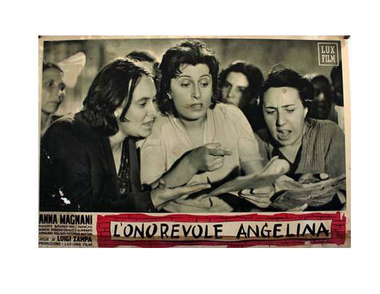 Angelina (L'onorevole Angelina) (The Honorable Angelina) (1947)| Film Screening & Pizza