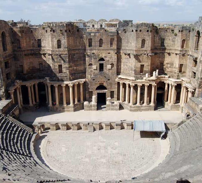 The Roman Theaters by Prof. Wladek Fuchs