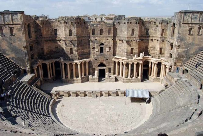 The Roman Theaters