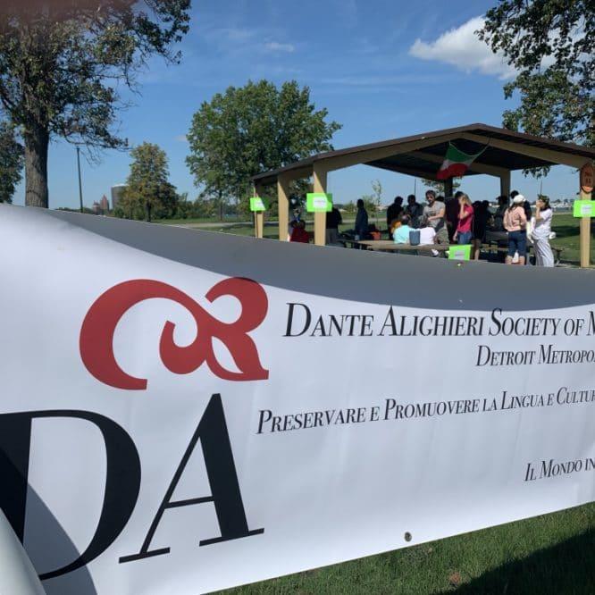 Celebrating Dante Alighieri in Belle Isle   Detroit