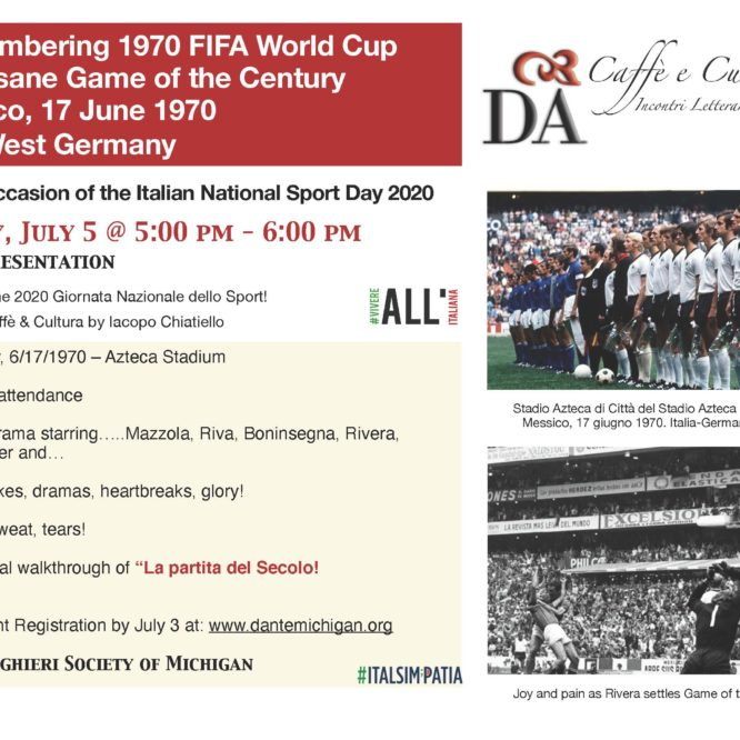 The insane Game of the Century   Italy-West Germany