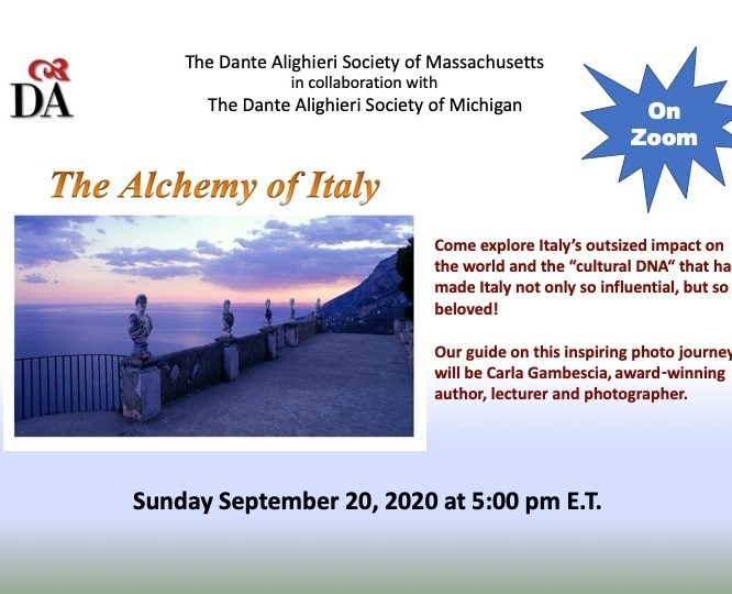 The Alchemy of Italy | Live Online