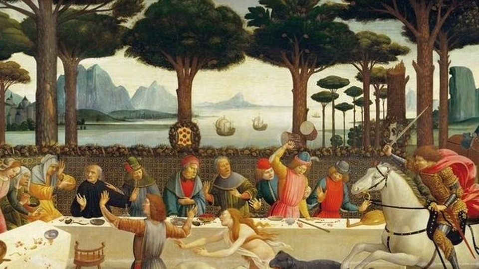 Historical–healthy cooking from the novelist Boccaccio