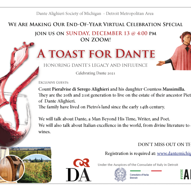 A Toast for Dante | Honoring Dante's Legacy and Influence